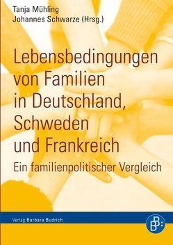 Lebensbedingungen von Familien in Deutschland, Schweden und Frankreich von Dörfler,  Sonja, Härpfer,  Marco, Krug,  Gerhard, Mühling,  Tanja, Schwarze,  Johannes, van der Woude,  Ida