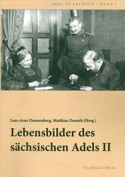 Lebensbilder des sächsischen Adels II