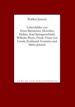 Lebensbilder von Dichtern I, 2 von Jantzen,  Walther