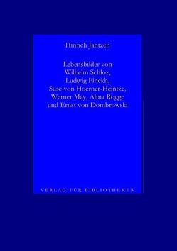 Lebensbilder von Dichtern II, 2 von Jantzen,  Hinrich
