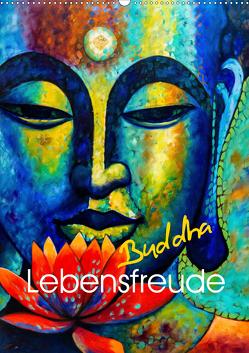 Lebensfreude Buddha (Wandkalender 2020 DIN A2 hoch) von Voßen - Herzog von Laar am Rhein,  W.W.