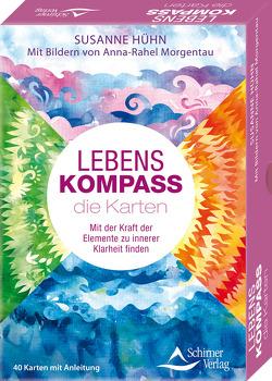 Lebenskompass – das Orakel- Mit der Kraft der Elemente zu innerer Klarheit finden von Hühn,  Susanne, Morgentau,  Anna-Rahel