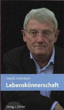 Lebenskönnerschaft von Achenbach,  Gerd B.