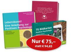 'Lebenskunst! Eine Anleitung zur Positiven Psychologie', '75 Bildkarten Positive Psychologie' und 'Mein Erfolgstagebuch' von Härtl-Kasulke,  Claudia, Kasulke,  Otto