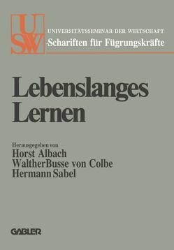 Lebenslanges Lernen von Albach,  Horst