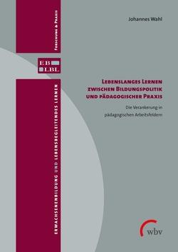 Lebenslanges Lernen zwischen Bildungspolitik und pädagogischer Praxis von Wahl,  Johannes