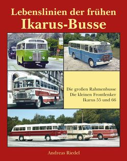 Lebenslinien der frühen Ikarus-Busse von Andreas,  Riedel