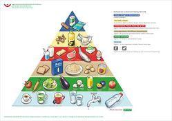 Lebensmittelpyramide von Hayer,  Angelika
