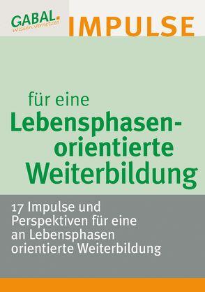 Lebensphasenorientierte Weiterbildung von Reiter,  Hanspeter