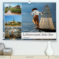 Lebensraum Inle-See in Myanmar (Premium, hochwertiger DIN A2 Wandkalender 2020, Kunstdruck in Hochglanz) von Berlin,  Annemarie