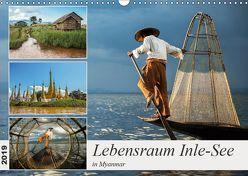Lebensraum Inle-See in Myanmar (Wandkalender 2019 DIN A3 quer) von Berlin,  Annemarie