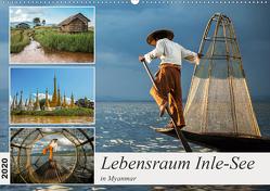 Lebensraum Inle-See in Myanmar (Wandkalender 2020 DIN A2 quer) von Berlin,  Annemarie