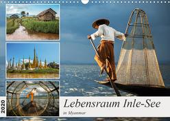 Lebensraum Inle-See in Myanmar (Wandkalender 2020 DIN A3 quer) von Berlin,  Annemarie