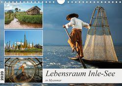 Lebensraum Inle-See in Myanmar (Wandkalender 2020 DIN A4 quer) von Berlin,  Annemarie