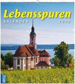 Lebensspuren Kalender 2020 von Kuntz-Veit,  Regine