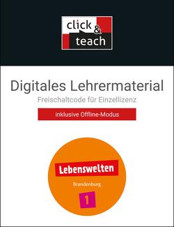 Lebenswelten / Lebenswelten click & teach 1 Box