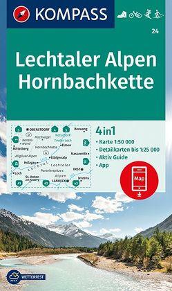 Lechtaler Alpen, Hornbachkette von KOMPASS-Karten GmbH