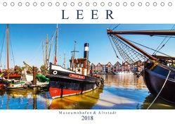 LEER Museumshafen und Altstadt (Tischkalender 2018 DIN A5 quer) von Dreegmeyer,  Andrea