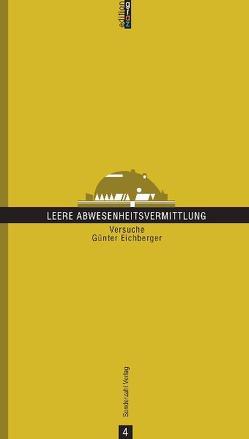 Leere Abwesenheitsmitteilung von Eichberger,  Günter
