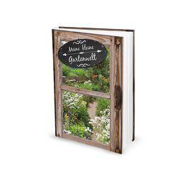 """Leeres Notizbuch """"Meine kleine Gartenwelt"""" (Hardcover, A5)"""