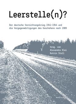 Leerstelle(n)? von Klei,  Alexandra, Stoll,  Katrin