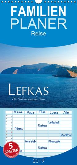Lefkas – Die Perle im Ionischen Meer – Familienplaner hoch (Wandkalender 2019 , 21 cm x 45 cm, hoch) von Keller,  Fabian