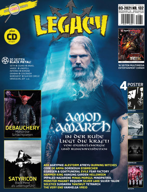LEGACY MAGAZIN: THE VOICE FROM THE DARKSIDE von Knittel,  Patric, Legacy Magazin, Sülter,  Björn