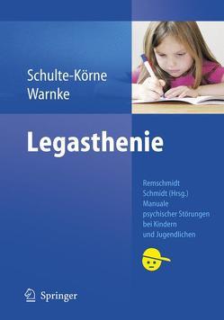 Legasthenie von Remschmidt,  Helmut, Warnke,  Andreas
