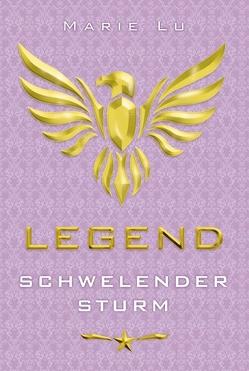 Legend – Schwelender Sturm von Knuffinke,  Sandra, Komina,  Jessika, Lu,  Marie