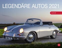 Legendäre Autos Kalender 2021 von Heye