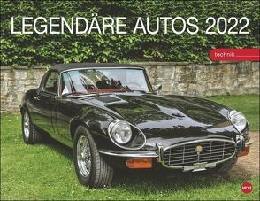Legendäre Autos Kalender 2022 von Heye
