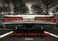 Legendary Classic & Muscle Cars 2021 – Wand-Kalender – Auto-Kalender – 42×29,7 – Oldtimer