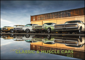 Legendary Classic & Muscle Cars 2022 – Wand-Kalender – Auto-Kalender – 42×29,7 – Oldtimer