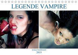 Legende Vampire (Tischkalender 2019 DIN A5 quer) von Brunner-Klaus,  Liselotte