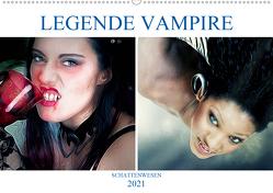 Legende Vampire (Wandkalender 2021 DIN A2 quer) von Brunner-Klaus,  Liselotte