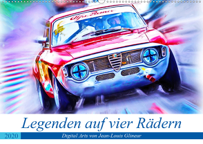 Legenden auf vier Rädern (Wandkalender 2020 DIN A2 quer) von Glineur,  Jean-Louis