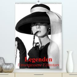 Legenden – Unvergessene Filmstars (Premium, hochwertiger DIN A2 Wandkalender 2021, Kunstdruck in Hochglanz) von Stanzer,  Elisabeth