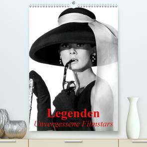 Legenden – Unvergessene Filmstars (Premium, hochwertiger DIN A2 Wandkalender 2020, Kunstdruck in Hochglanz) von Stanzer,  Elisabeth
