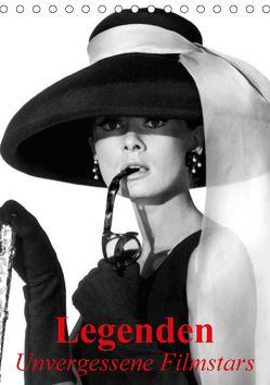 Legenden – Unvergessene Filmstars (Tischkalender 2018 DIN A5 hoch) von Stanzer,  Elisabeth