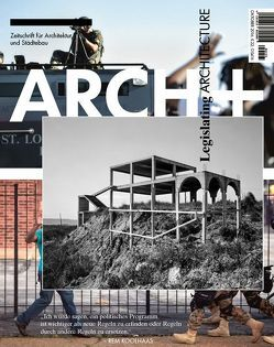 Legislating Architecture von Brandlhuber,  Arno