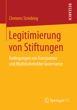 Legitimierung von Stiftungen von Striebing,  Clemens
