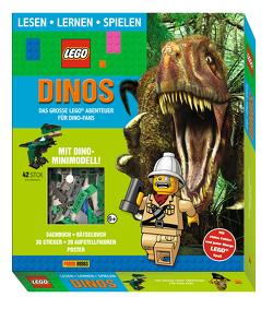 LEGO®: Dinos Das große LEGO® Abenteuer für Dino-Fans (Lesen, Lernen, Spielen)