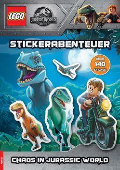 LEGO® Jurassic World – Stickerabenteuer – Chaos in Jurassic World