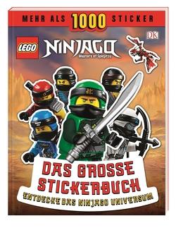 LEGO® NINJAGO® Das große Stickerbuch von Stewart,  Joseph