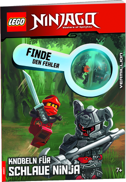 LEGO® NINJAGO® Finde den Fehler, Knobeln für schlaue Ninja