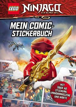 LEGO® NINJAGO® – Mein Comic-Stickerbuch