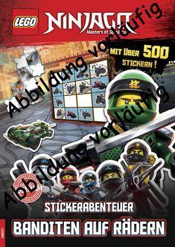 LEGO® NINJAGO® – Stickerabenteuer – Banditen auf Rädern