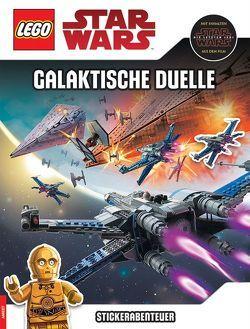 LEGO® Star Wars™ – Stickerabenteuer – Galaktische Duelle