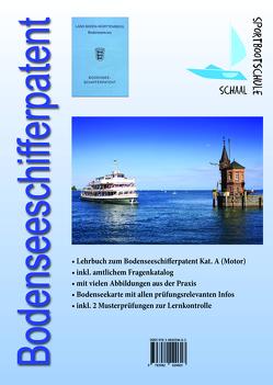 Lehrbuch Bodenseeschifferpatent Kat. A (Motor)