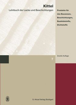Lehrbuch der Lacke und Beschichtungen von Kittel,  Hans, Reul,  Horst